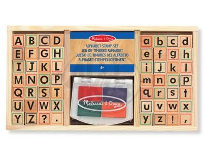 Melissa & Doug 76590 - Razítka abeceda