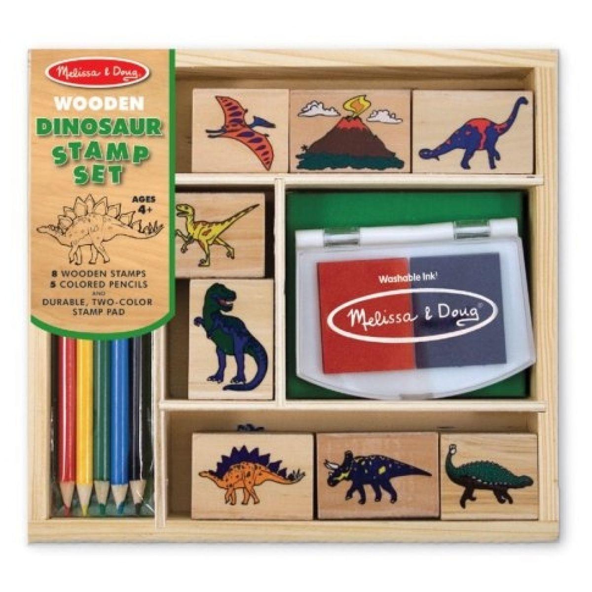 Melissa & Doug 76592 - Razítka dinosaurů