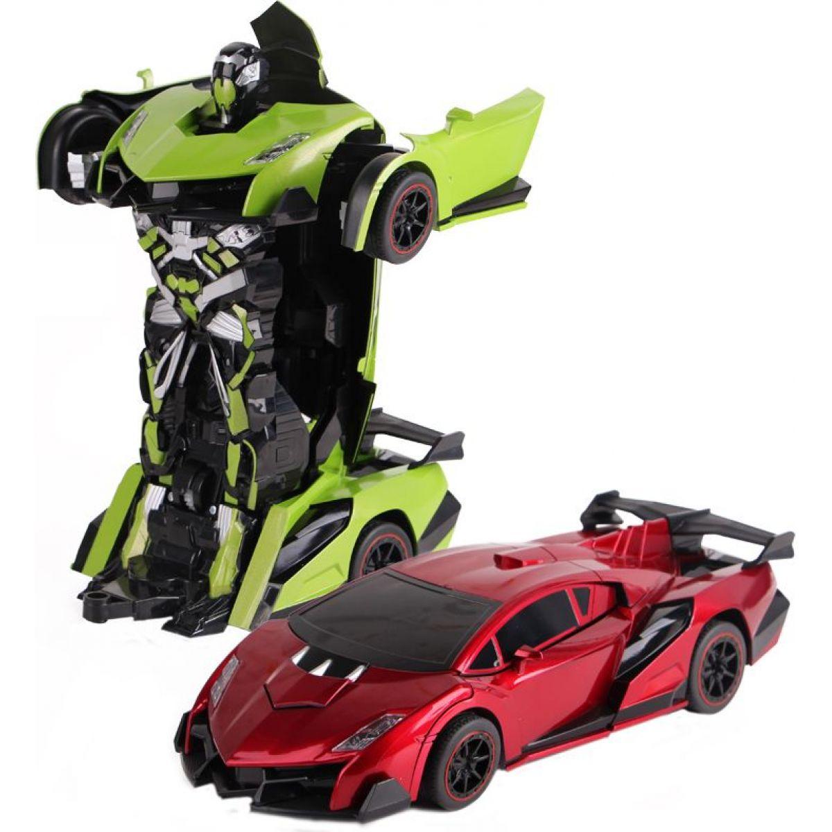 HM Studio vRC Auto Changeable Zelená-červená - Červená