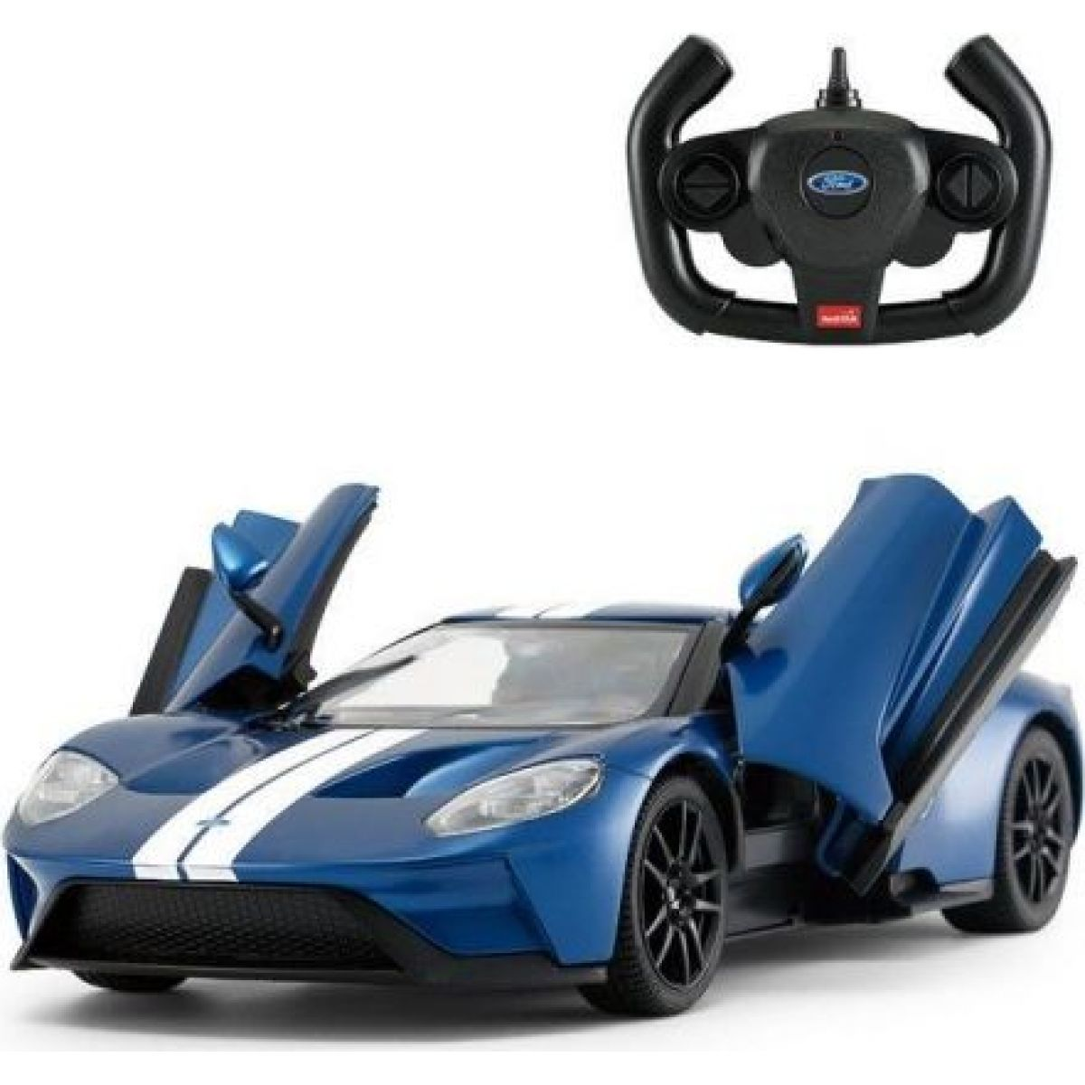 RC auto Ford GT blue