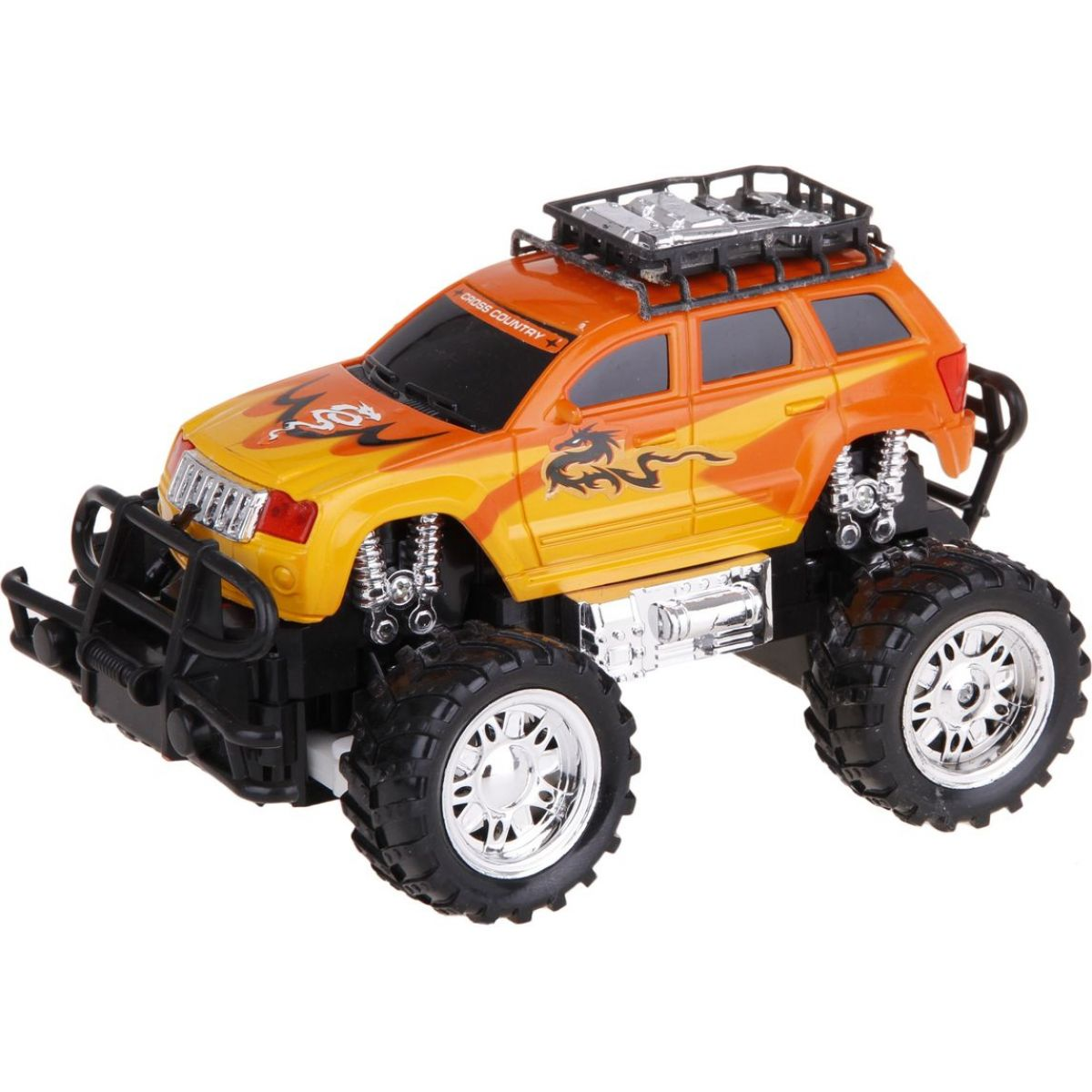 RC Auto Monster Truck - Oranžová