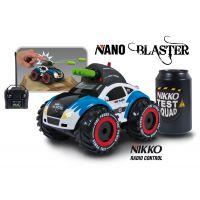 Nikko RC Auto Nano Blaster - Modrá 2