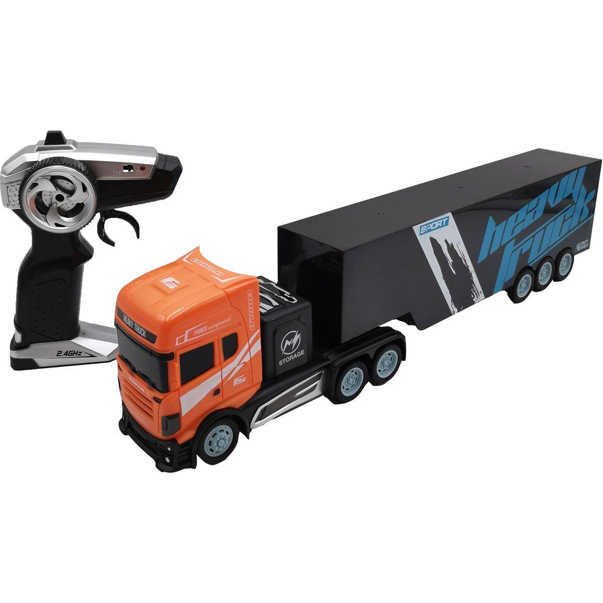 RC Kamión s návesom 45cm 2,4 GHz