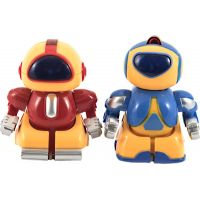 RC Mini roboti bojovníci 2 ks