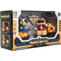 RC Mini roboti bojovníci 2 ks 4