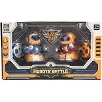 RC Mini roboti bojovníci 2 ks 5