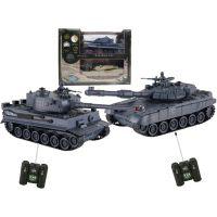 RC tanky 1:24 PK Tiger sada 2 tanků