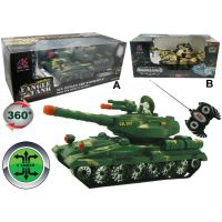HM Studio RC Vojenský tank 1:16
