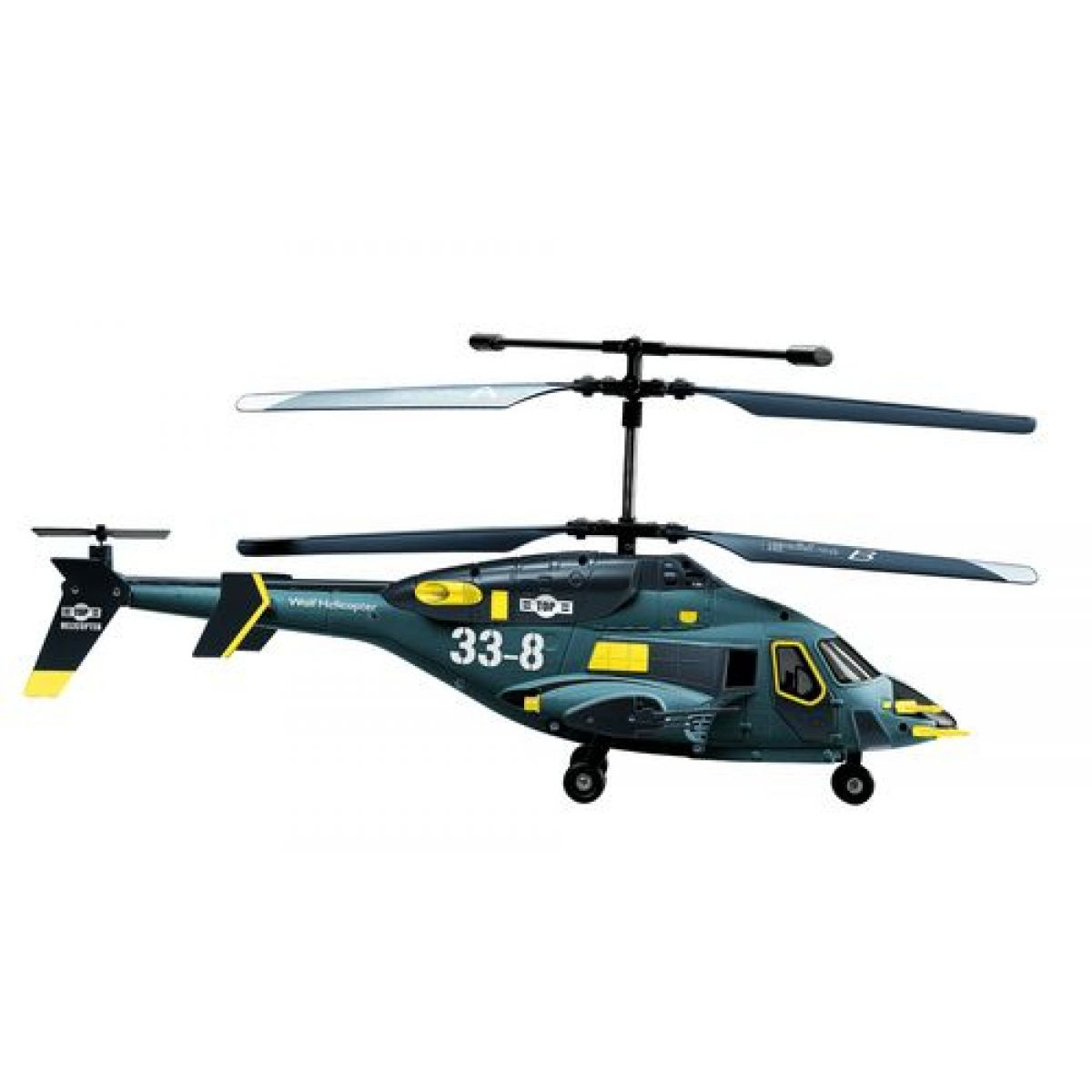 RC Vrtulník Fleg 338 - Sky Wolf GYROSKOP