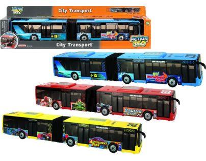 Realtoy Autobus kloubový 42 cm