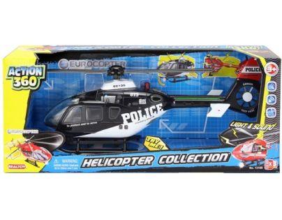 Realtoy Helikoptéra se světlem a zvukem - Policie