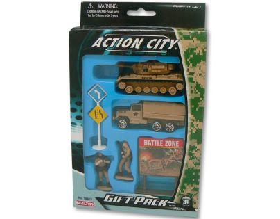 Realtoy Vojenská technika - Hnědý tank