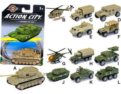 Realtoy Vojenská technika na blistru - Vojenské vozidlo