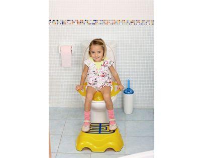OK Baby Redukce na WC Pinguo světle modrá 55