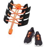 Altima Reflexní elastické tkaničky oranžové