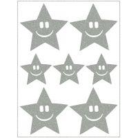Altima Reflexní nažehlovací motivy hvězda