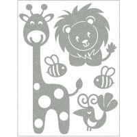 Altima Reflexní nažehlovací motivy žirafa