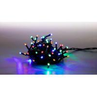 Marimex Řetěz světelný 100 LED 5 m barevná světla zelený kabel