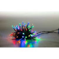 Marimex Řetěz světelný 100 LED 5 m barevná transparent kabel