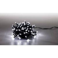 Marimex Řetěz světelný 100 LED 5 m studená bílá zelený kabel 8 funkcí