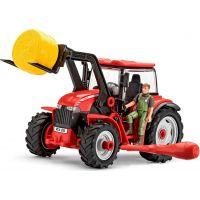 Revell Junior Kit traktor s figurkou 1:20 červený