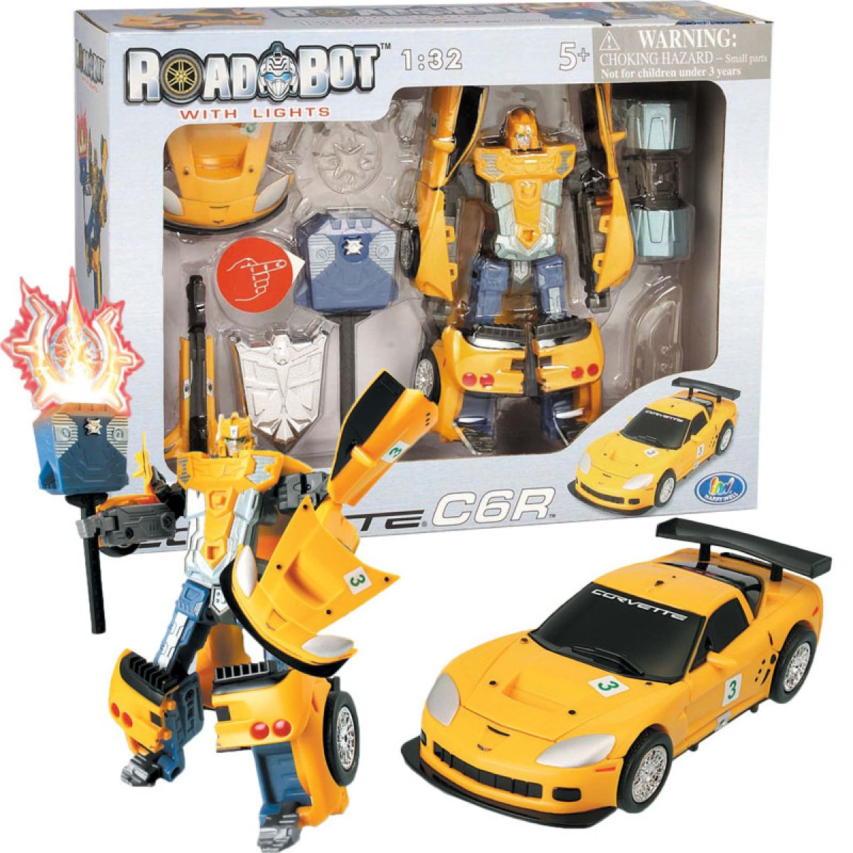 Road Bot Corvette C6R 1:32