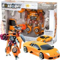 Road Bot Lamborghnini (1:18) - Oranžová