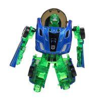 1:64 Robocarz 2 v 1 1:64 8 B tm. modrý-zelený