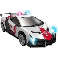Robocarz 2 v 1 Policejní záchranářské auto 1:32 2 A záchranářské