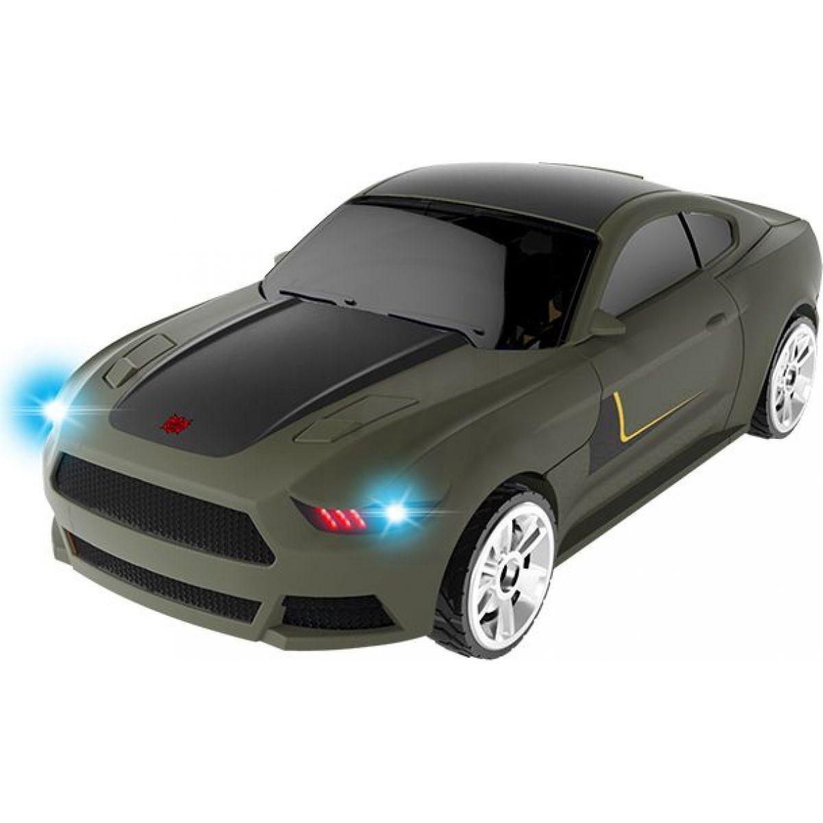 Robocarz 2 v 1 Sportovní auto 1:32 2 D zeleno-fialové