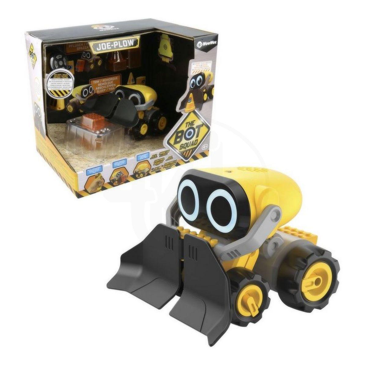 Robot interaktivní Plow