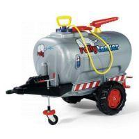 Rolly Tanker s pumpou a stříkačkou 1osý - stříbrný Rolly Toys