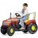 Rolly Toys 035557 - Šlapací traktor X-Trac - červený 2
