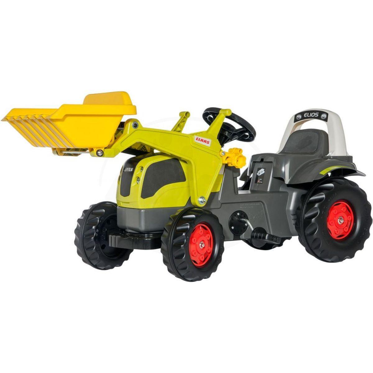 Rolly Toys Šlapací traktor Rolly Kid Claas Elios
