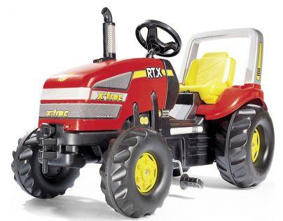 Rolly Toys 035557 - Šlapací traktor X-Trac - červený