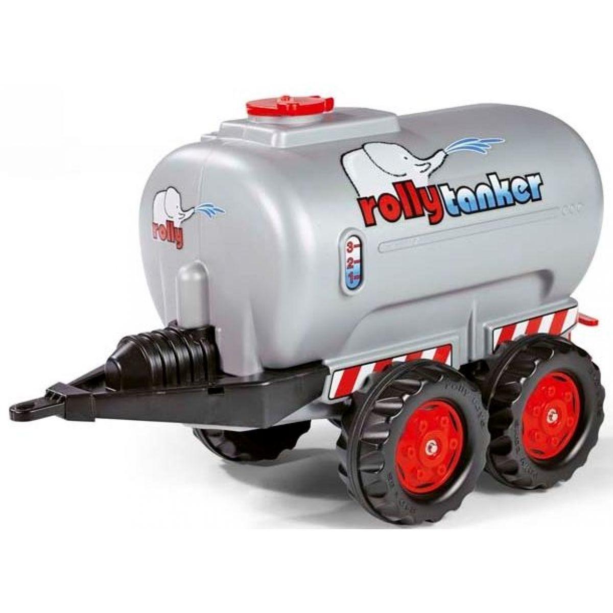 Rolly Toys Tanker dvouosý stříbrný