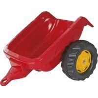 Rolly Toys Vlečka za traktor jednoosá Červená