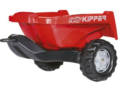 Rolly Toys Vlečka za traktor Kipper malá červená