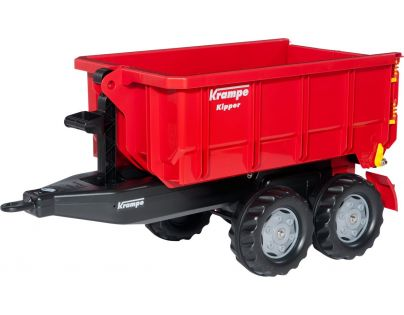 Rolly Toys Vlečka za traktor Krampe červená