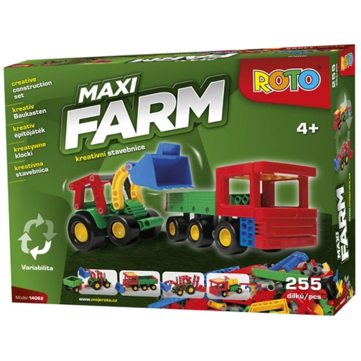 ROTO - Stavebnice Maxi FARM 14062