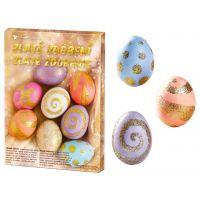 Anděl Sada k dekorování vajíček  Zlaté zdobení