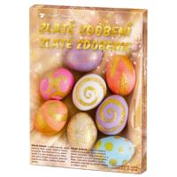 Sada k dekorovanie vajíčok - zlaté zdobenie 3