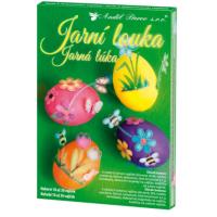 Sada k dekorovanie vajíčok - jarná lúka 2