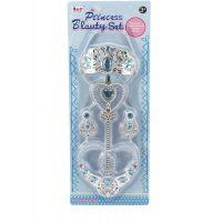 Sada krásy velká s plastovou korunkou a náhrdelníkem s naušnicemi 5