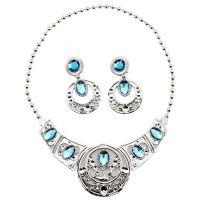 Sada krásy velká s plastovou korunkou a náhrdelníkem s naušnicemi 3