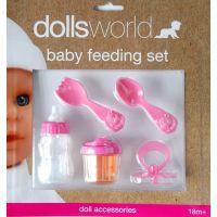 HM Studio Dolls world Sada na krmení pro panenky