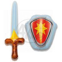 Intex 44600 Sada nafukovací štít a meč - Červená