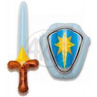 Intex 44600 Sada nafukovací štít a meč - Modrá