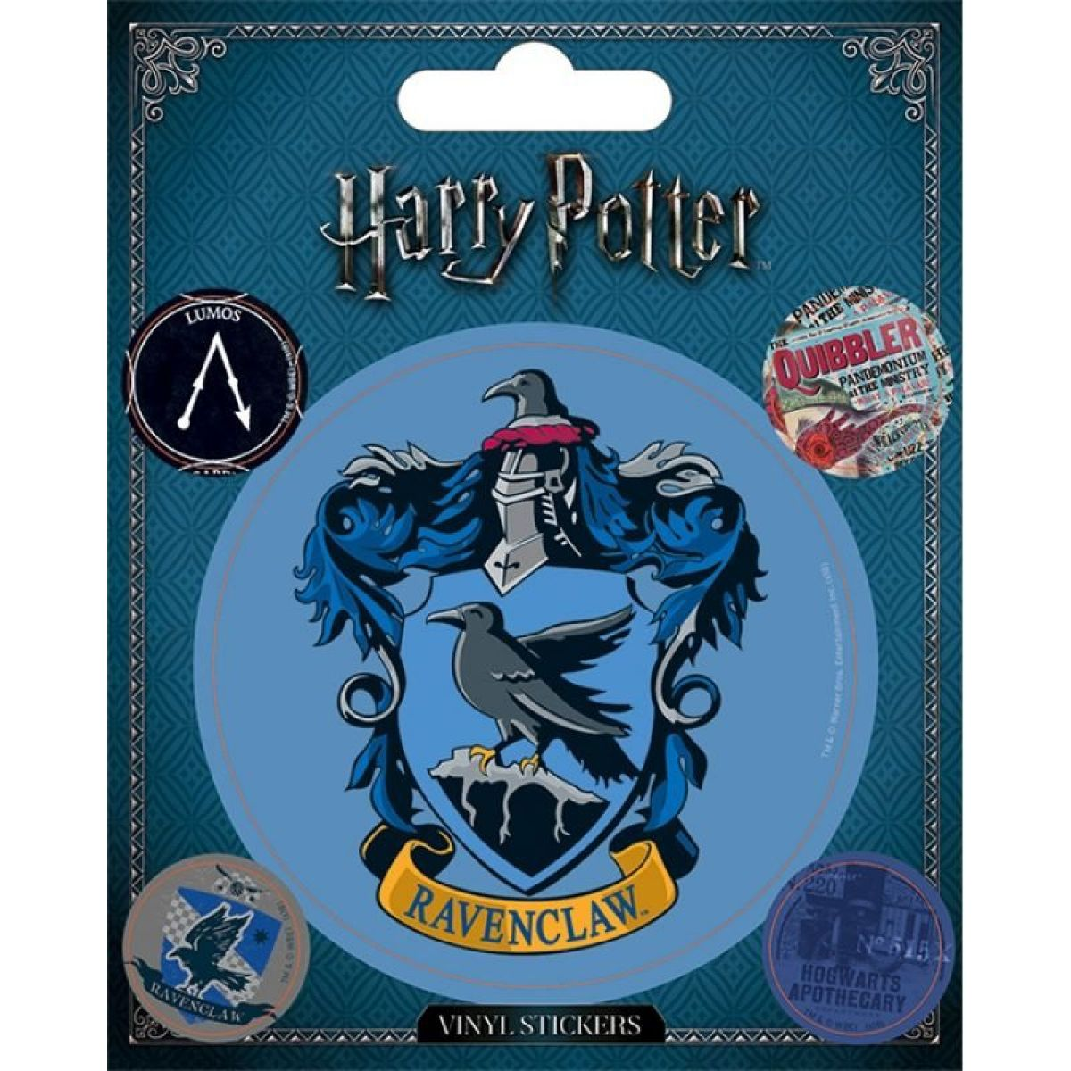 Sada samolepiek Harry Potter Bystrohlav