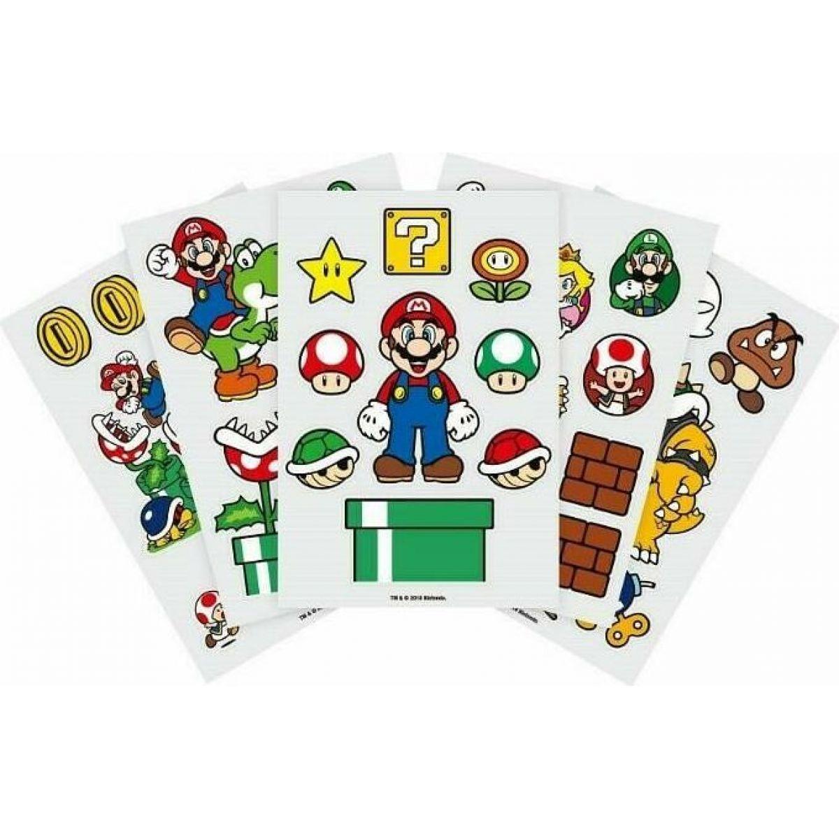 Epee Merch Sada Samolepek Super Mario